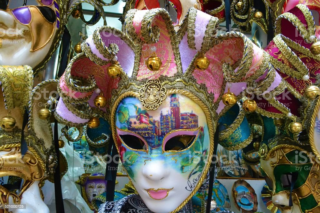 Carnevale di Venezia stock photo