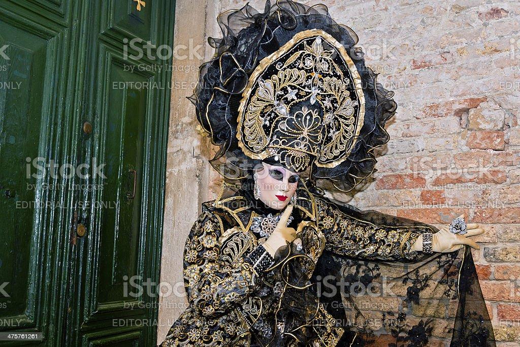 Venice Carnival X royalty-free stock photo