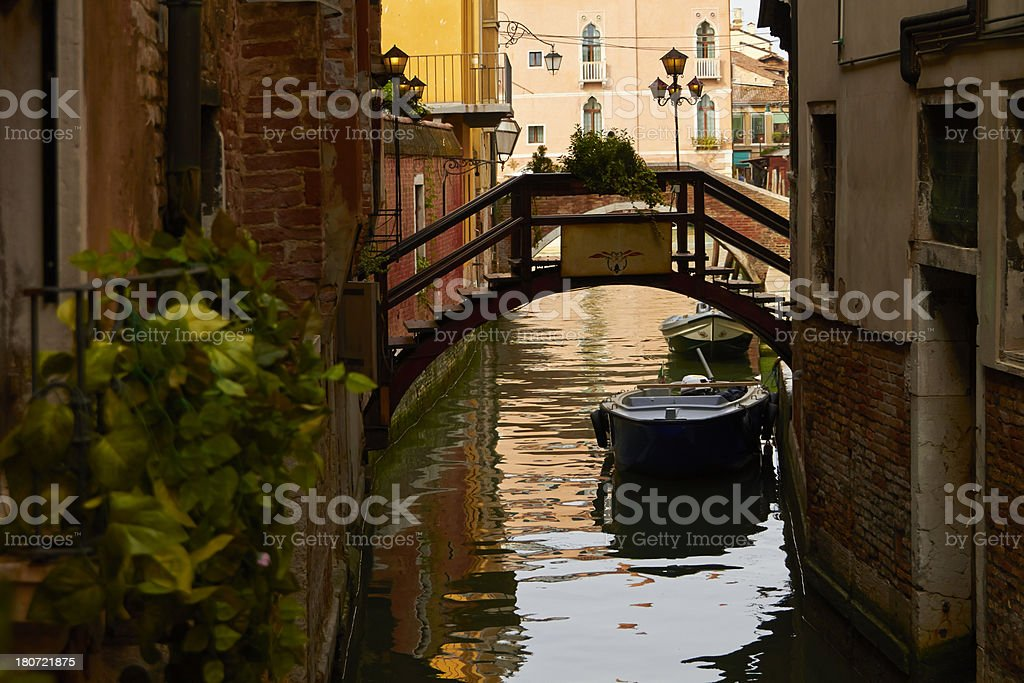 Venice channels. royalty-free stock photo