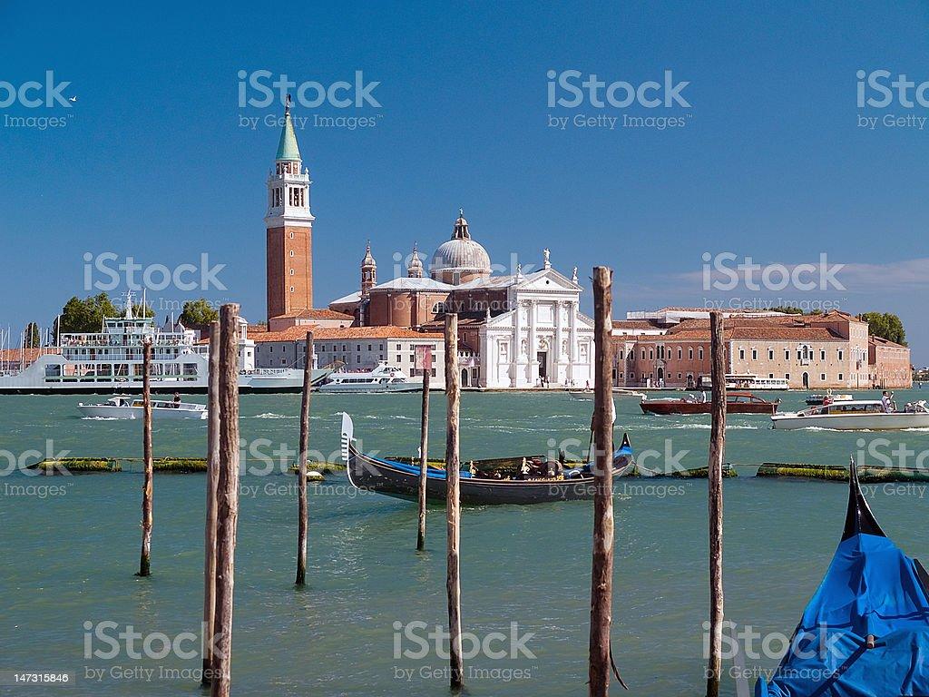 Venice - Church of San Giorgio Maggiore royalty-free stock photo