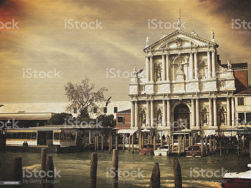 Chiesa di Venezia foto stock royalty-free