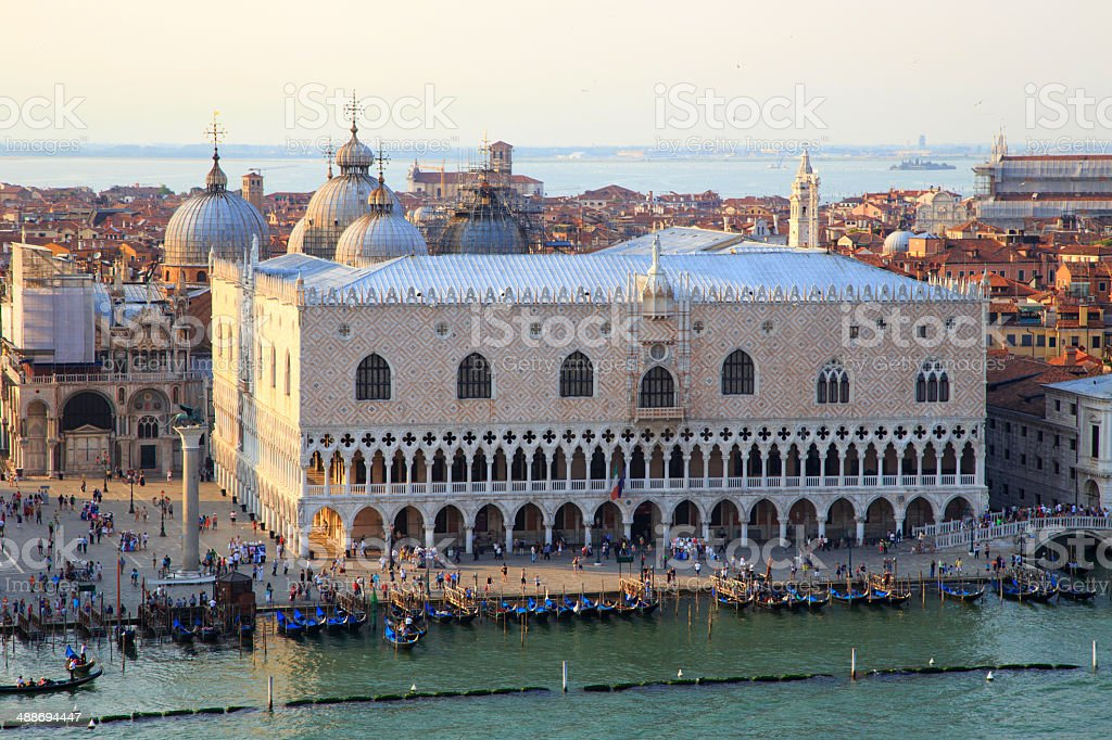 Venice cityscape stock photo