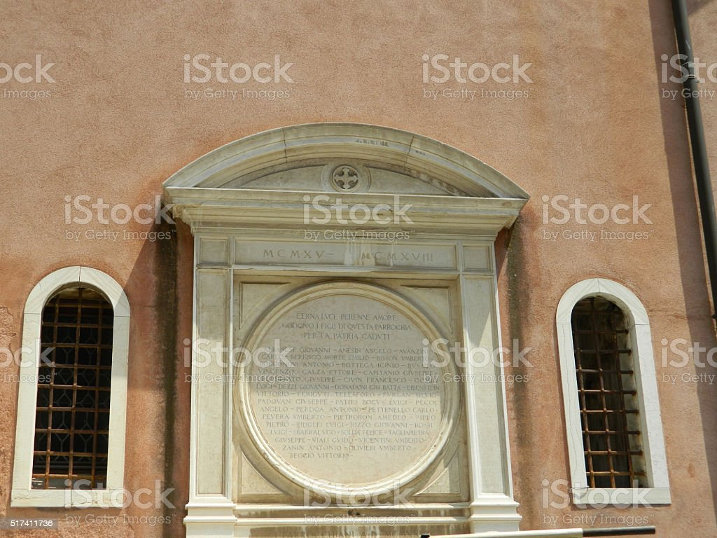 Venice classic architecture stock photo