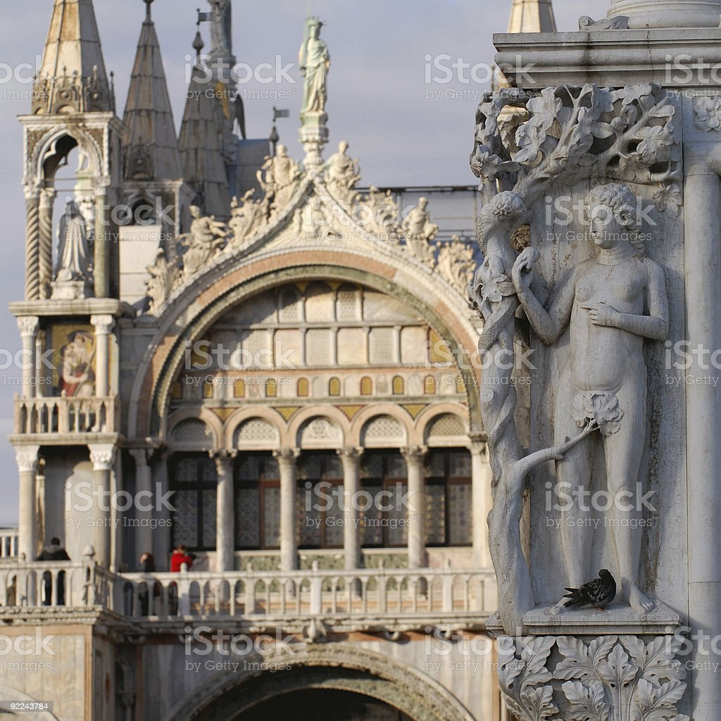 Venice details royalty-free stock photo