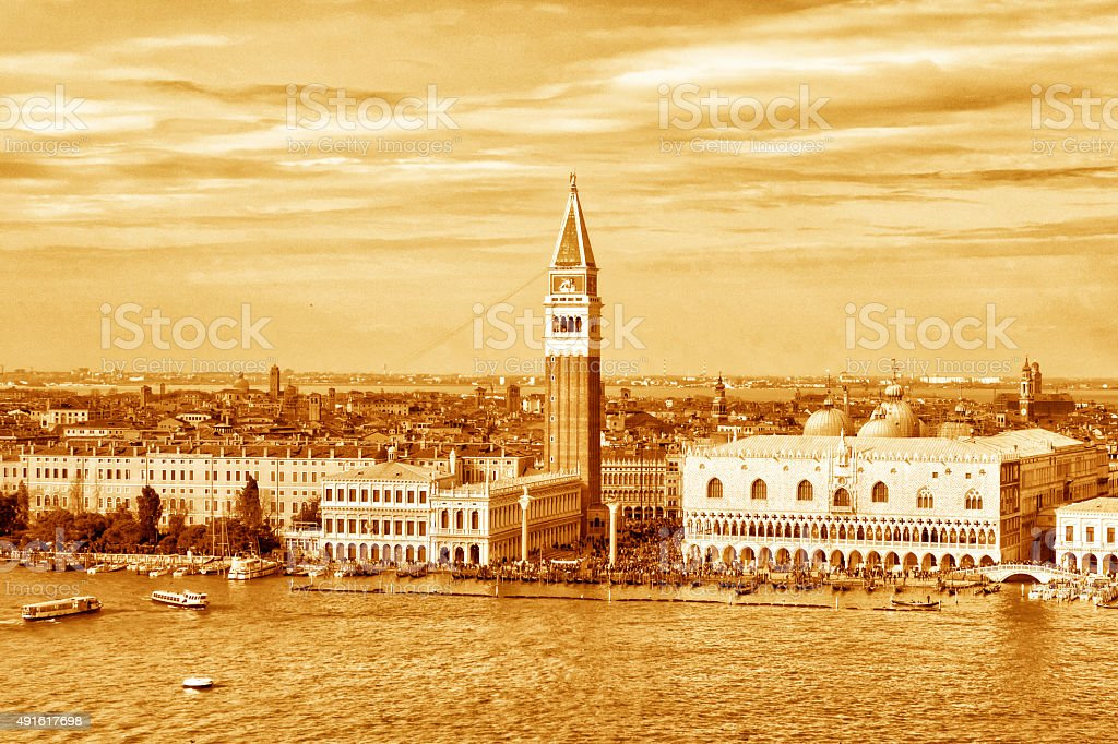 Venice - Doge's Palace stock photo