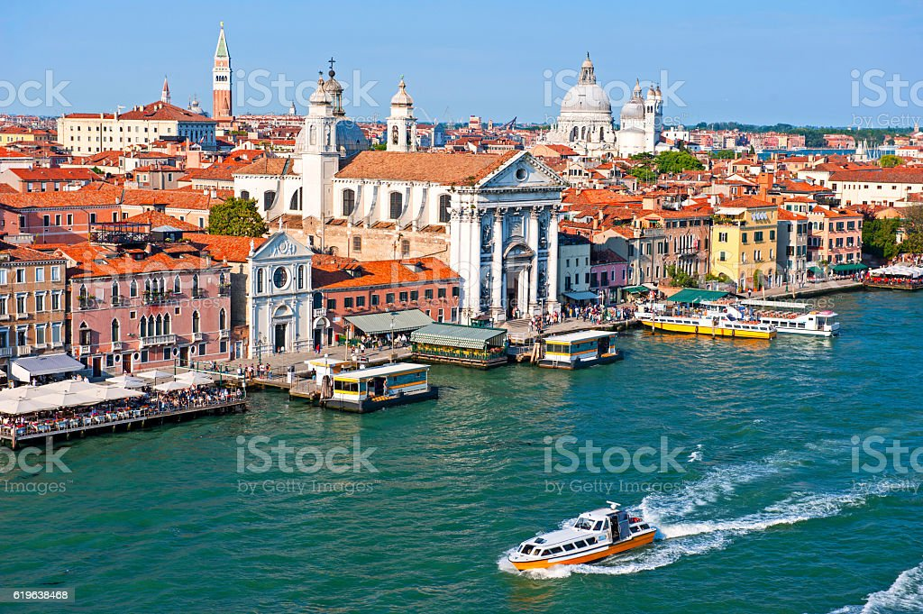 Venice Dorsoduro quarter stock photo