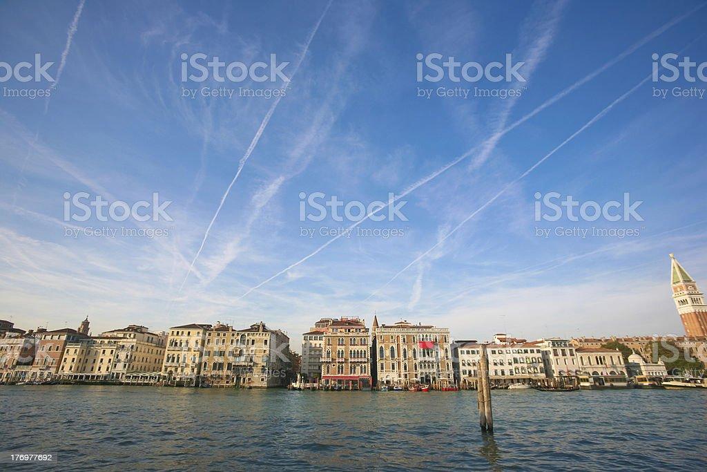 venice facades royalty-free stock photo