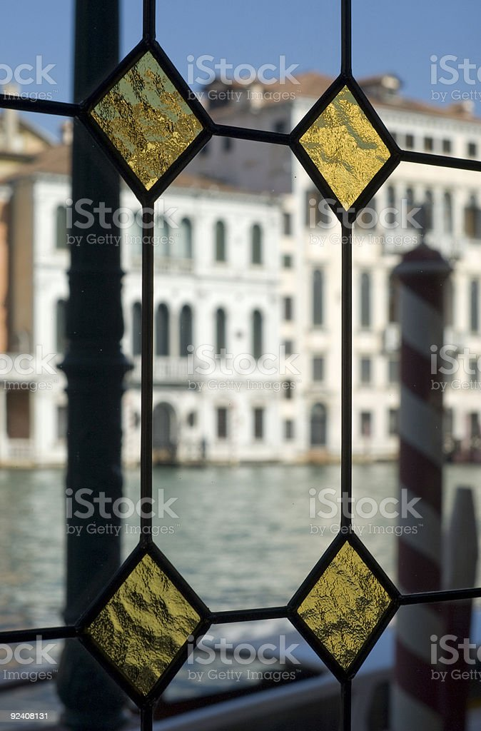 Venice from inside royalty-free stock photo