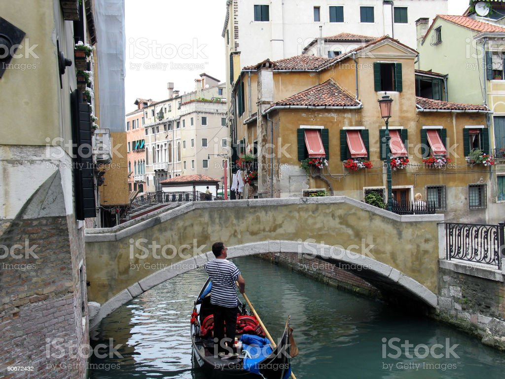 Venice Gondola III royalty-free stock photo