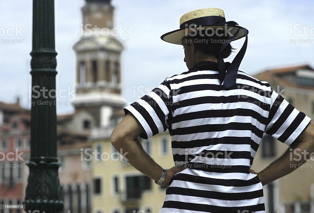 Venice -Gondola stock photo