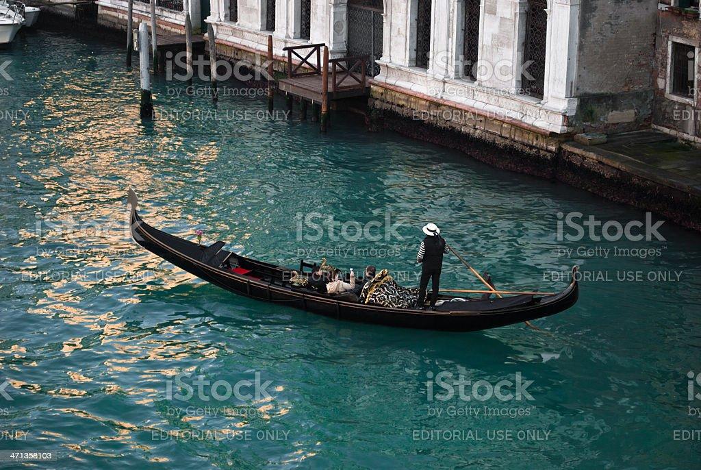 Venice - Gondola royalty-free stock photo