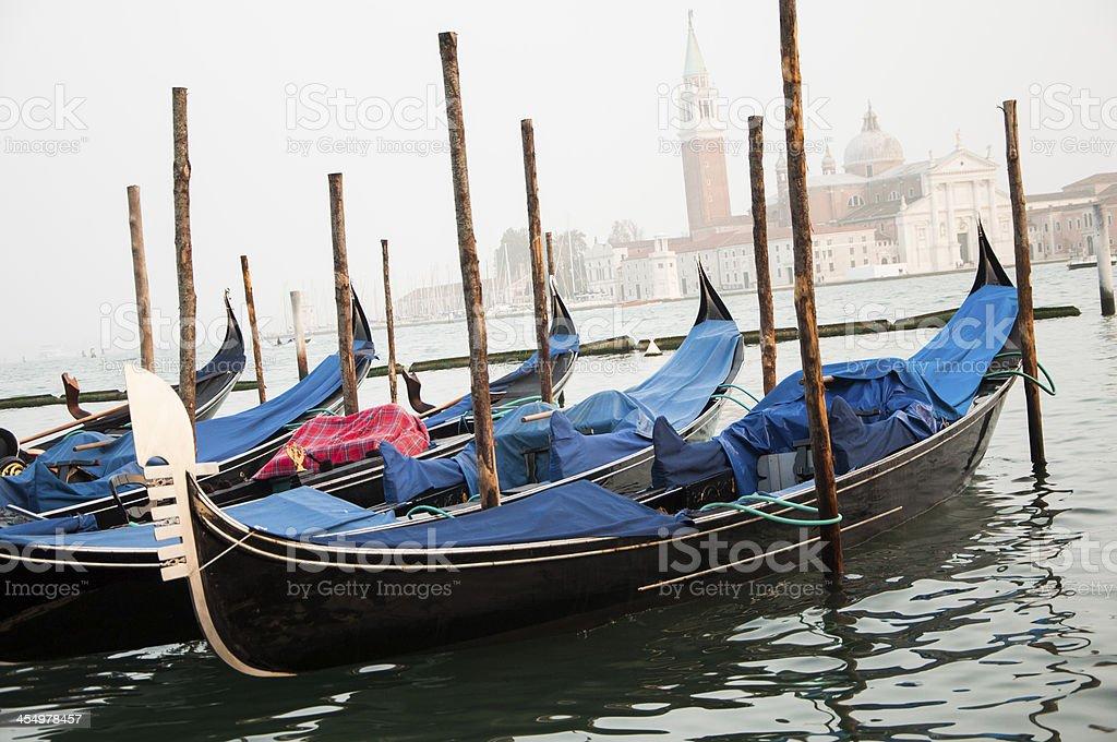 Venice gondole royalty-free stock photo