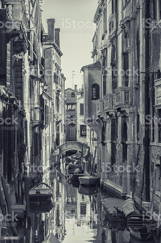 Venice, Grand Canal detail royalty-free stock photo