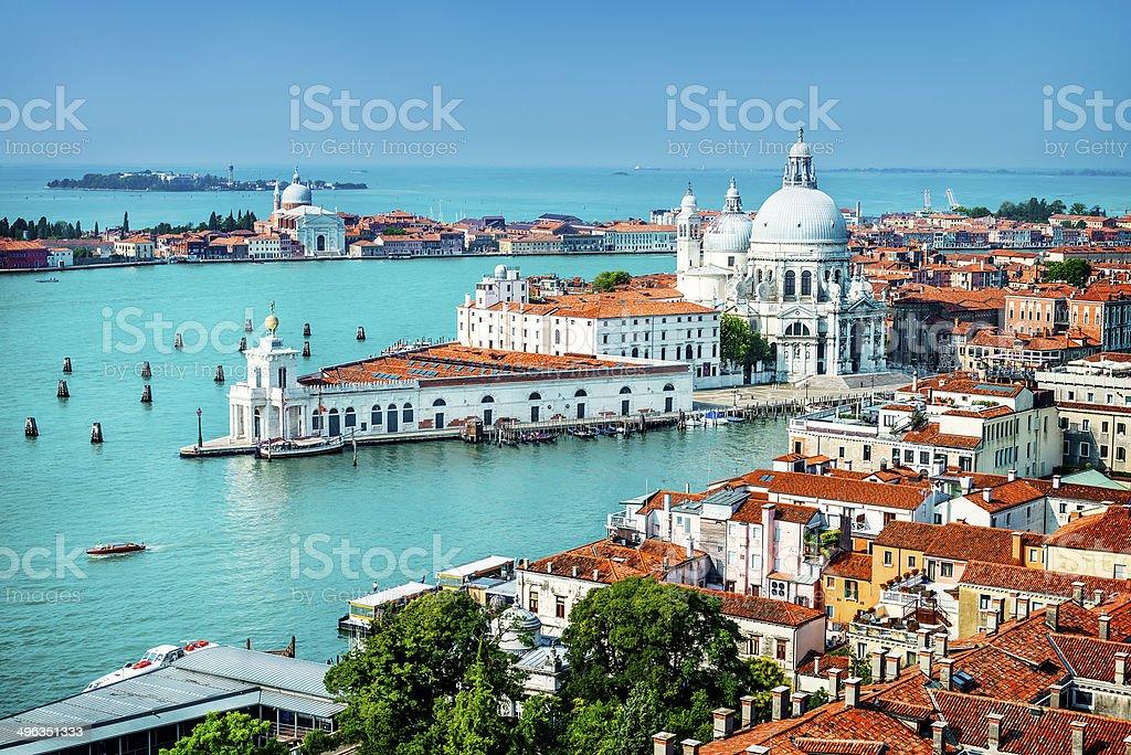 Venice, grand canal, Italy stock photo