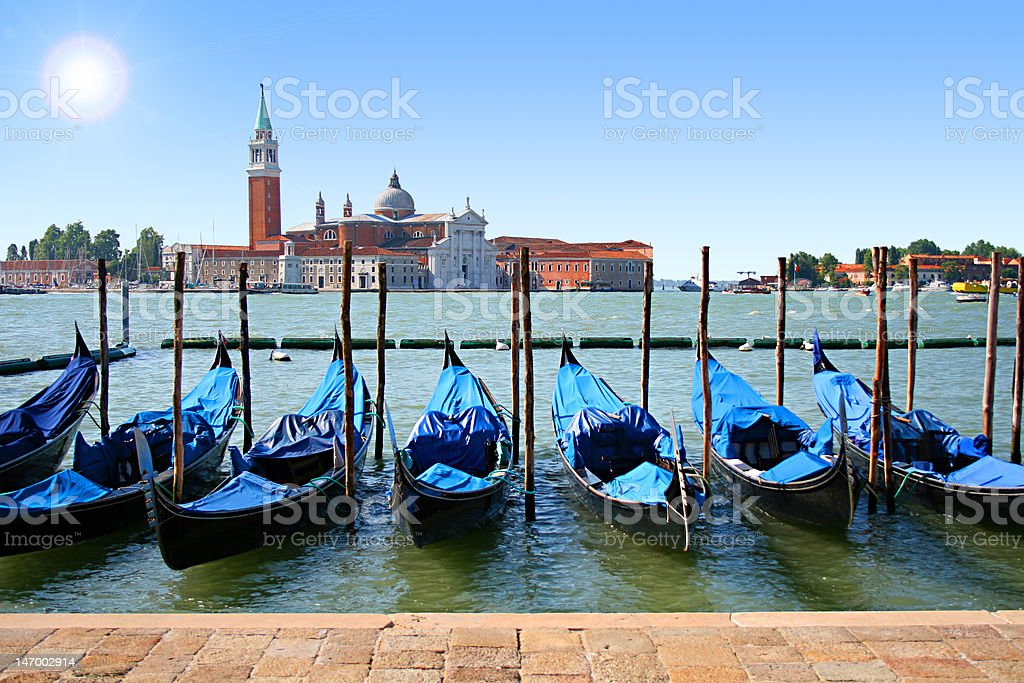 Venice. Grand canal royalty-free stock photo