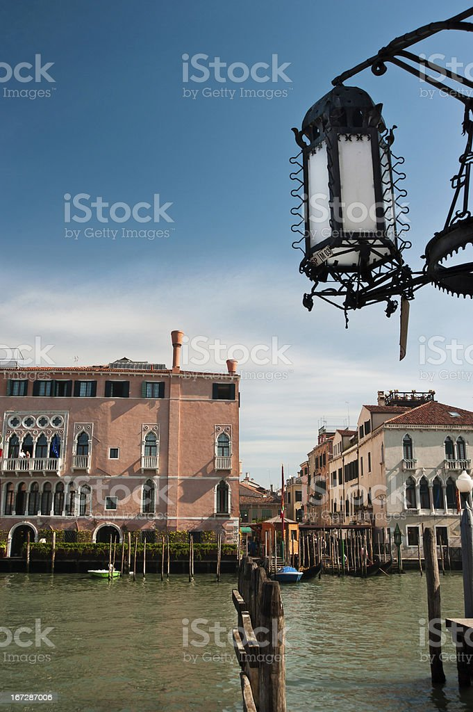 Venice - Grand Canal royalty-free stock photo