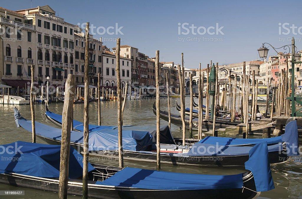 Venice Grand Canal stock photo