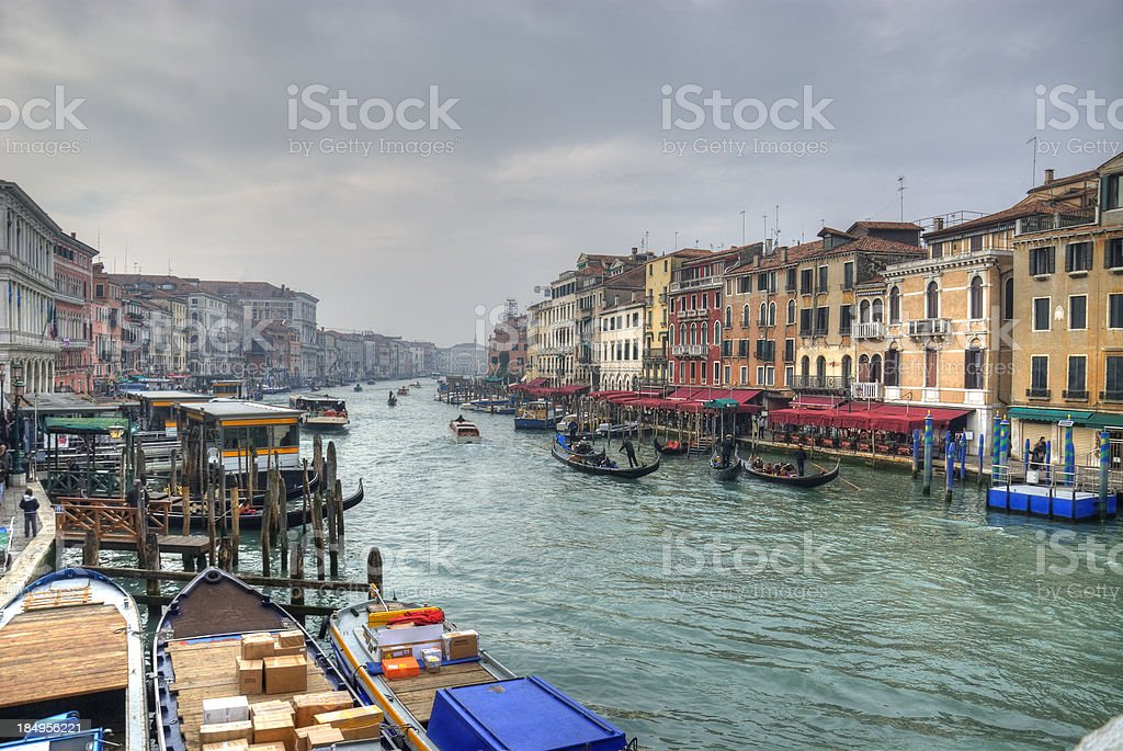 Venice - Canale Grande royalty-free stock photo