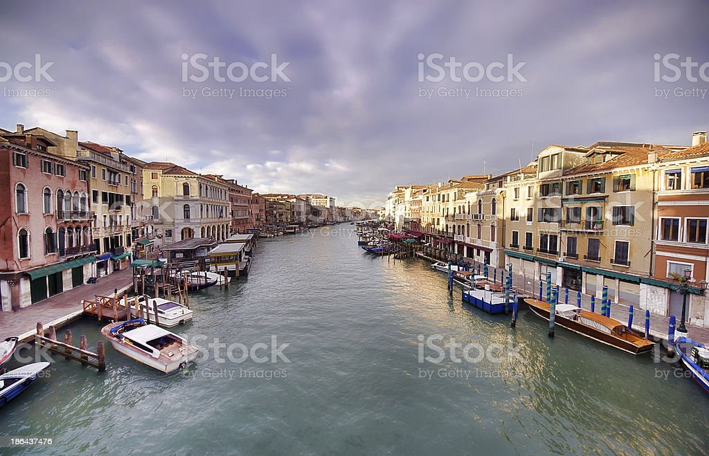 Venice Grand Canal royalty-free stock photo