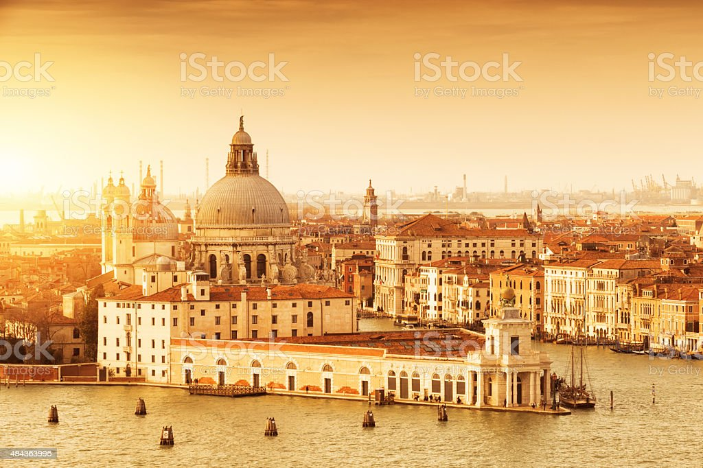 Venice, grand canal stock photo