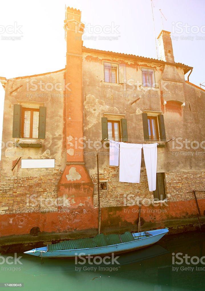 Venice House royalty-free stock photo