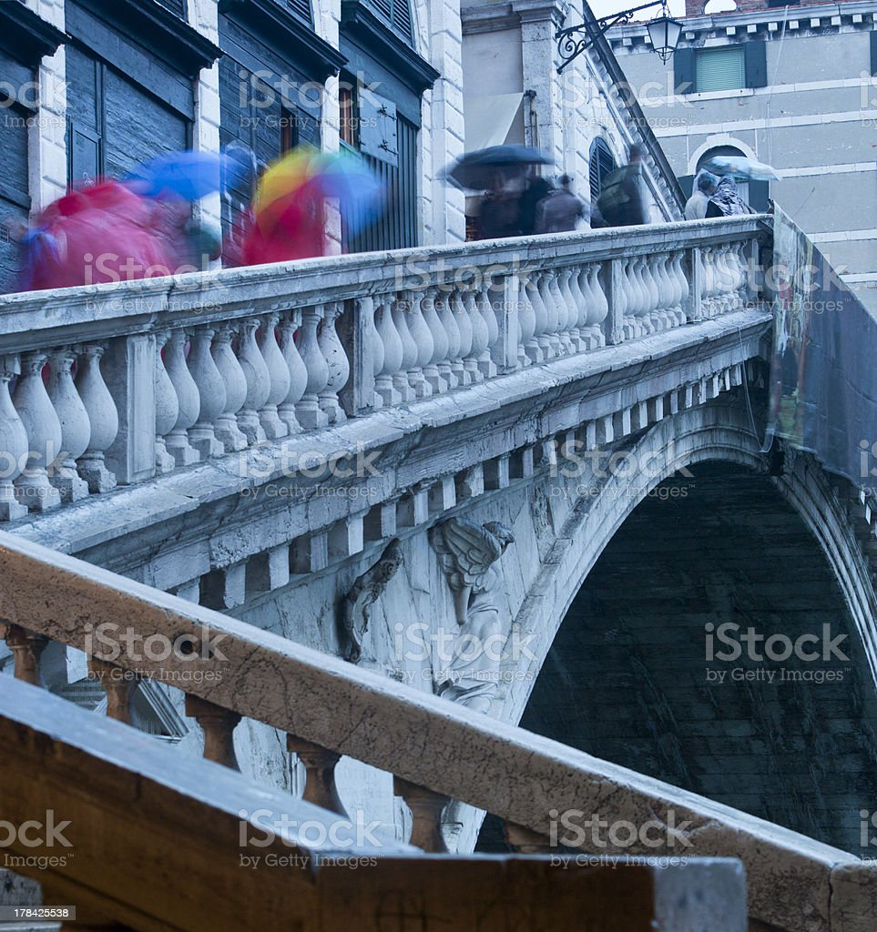 Venice in Autumn royalty-free stock photo