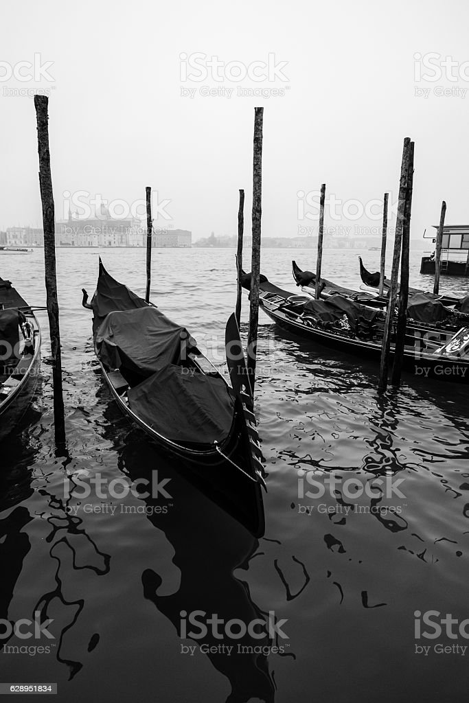Venice in Autumn stock photo