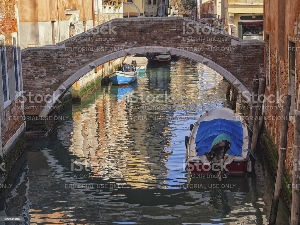 Venice in February royalty-free stock photo