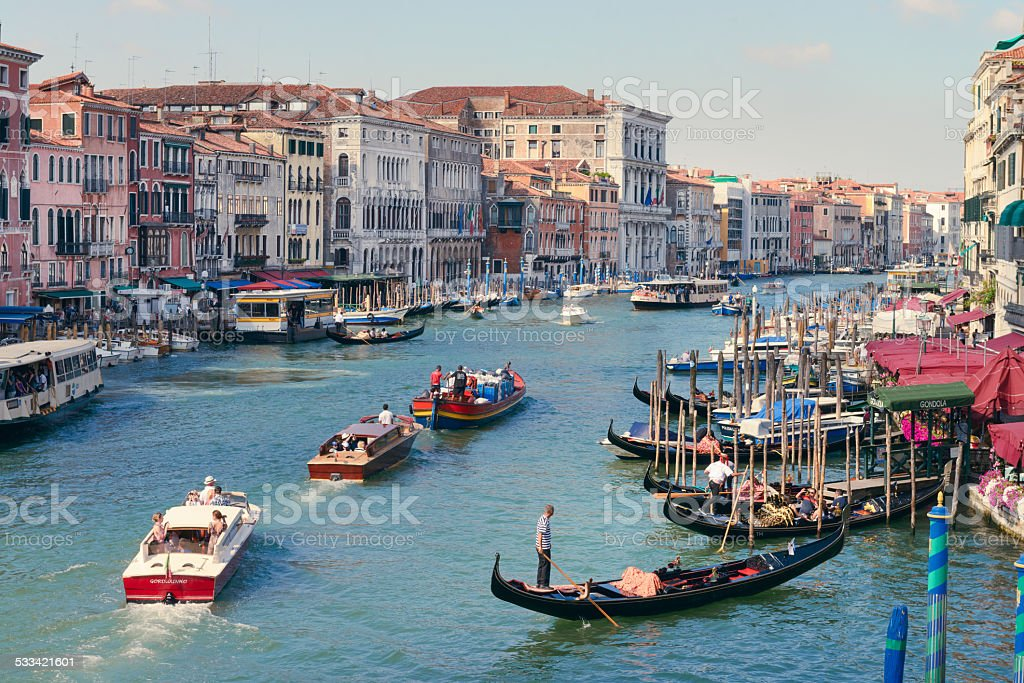 Venice in Summer stock photo