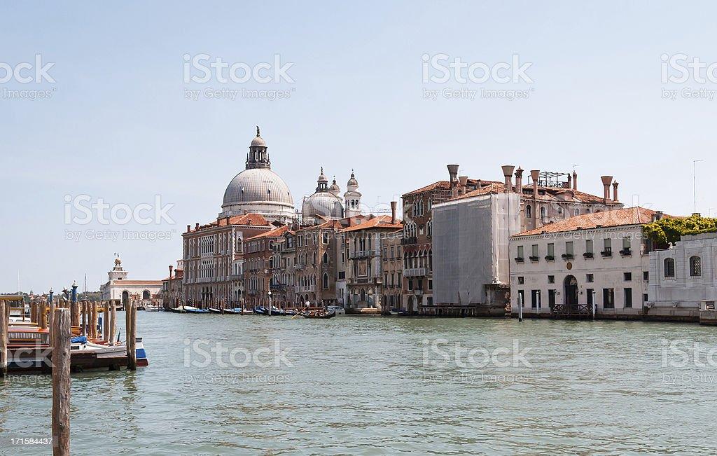 Venice Italy - Canal Grande stock photo
