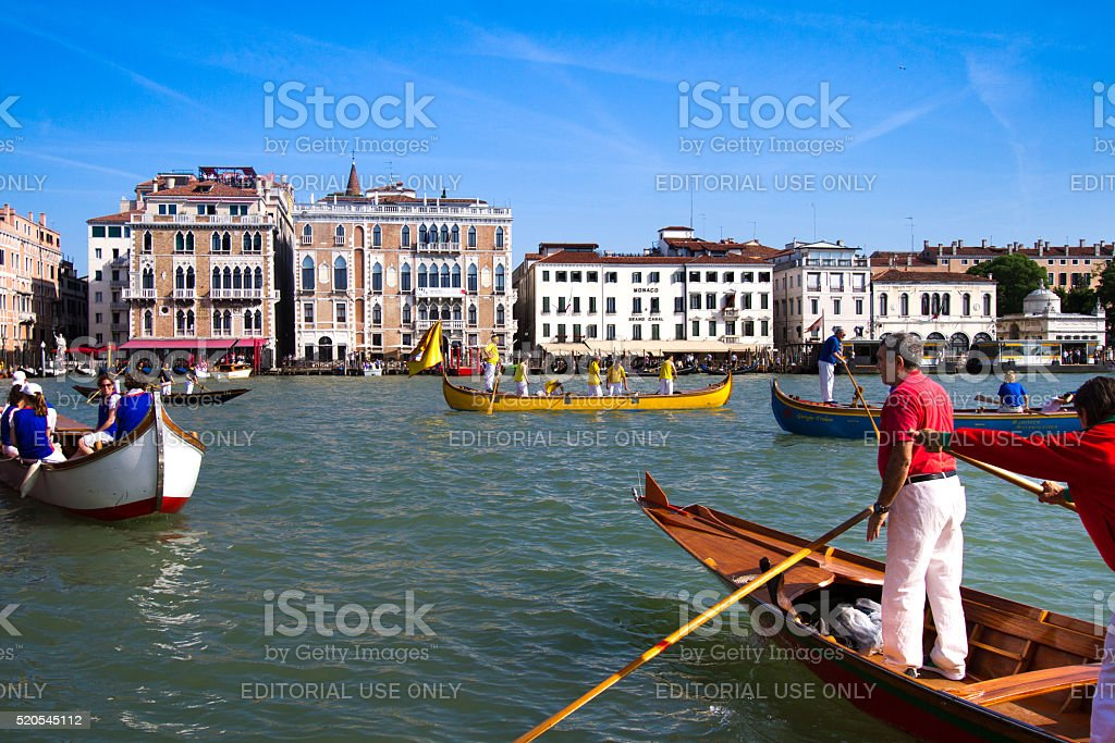 Venice, Italy: Festa della Sensa, Marriage to the Sea Festival stock photo