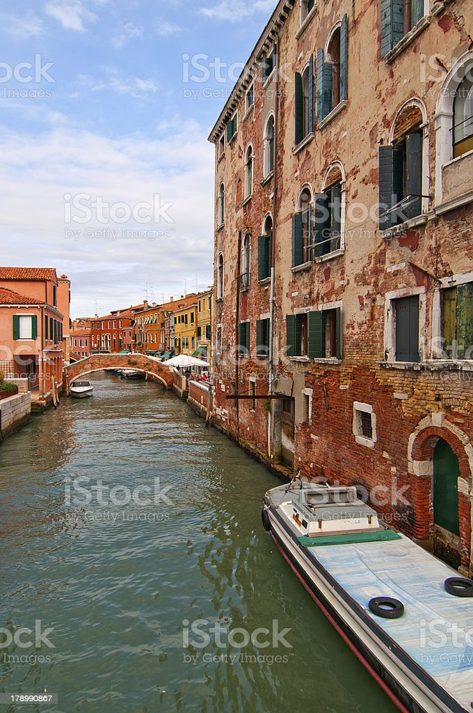 Venice Italy pittoresque view royalty-free stock photo