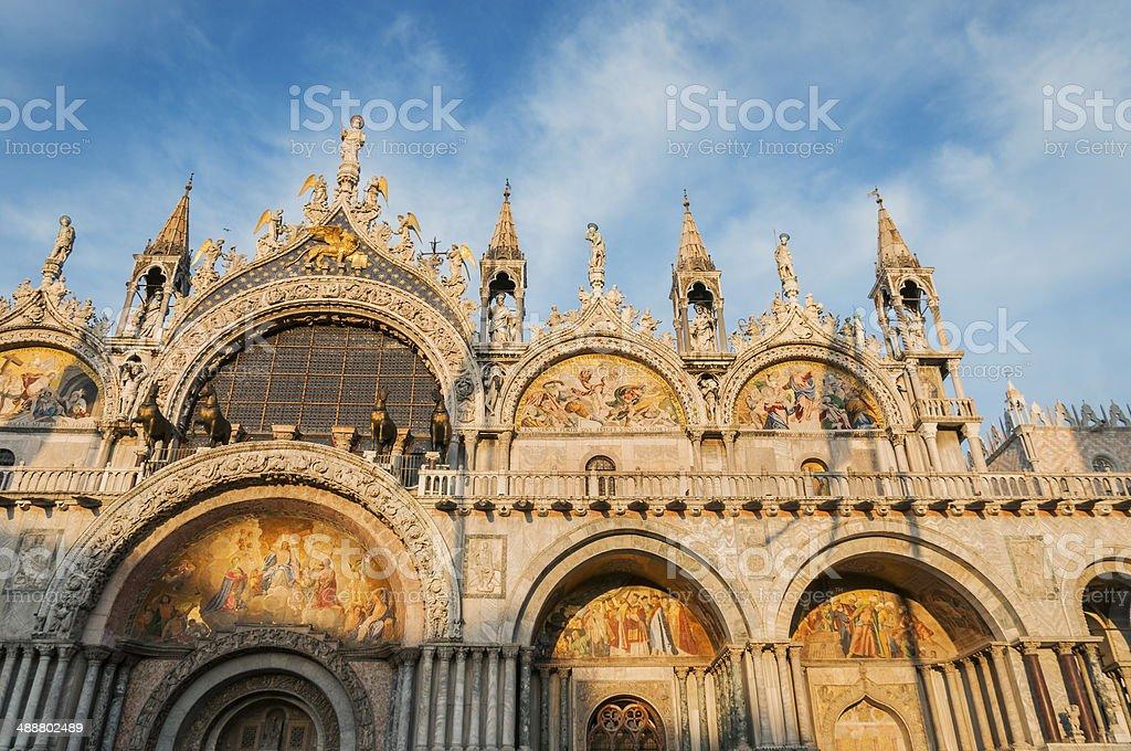 Venice, Italy. Saint Mark's Basilica royalty-free stock photo