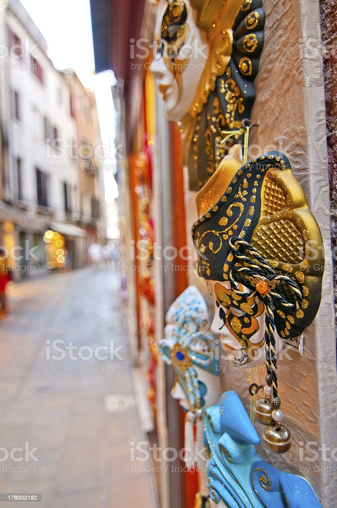 Venice Italy souvenir shop royalty-free stock photo