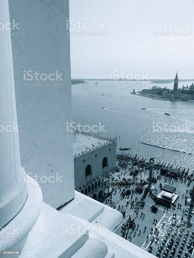 Venice, Italy - St Marks Square stock photo