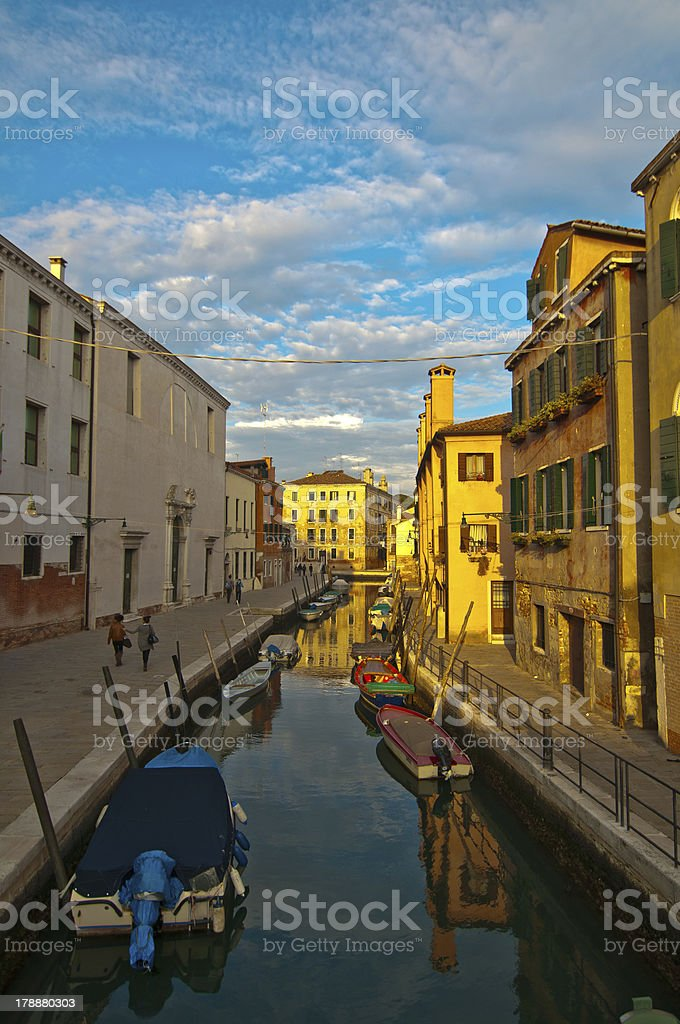 Venice Italy unusual pittoresque view royalty-free stock photo