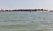 Venice lagoon, Italy.