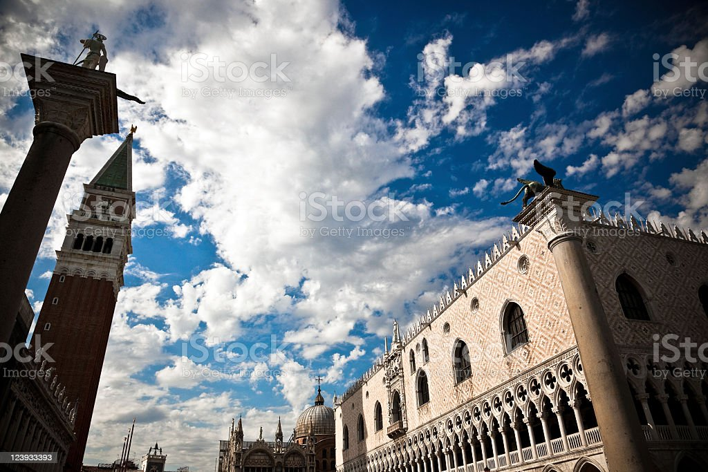 Venice landmarks royalty-free stock photo