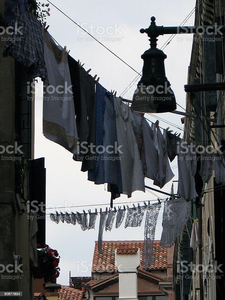 Venice Laundry royalty-free stock photo