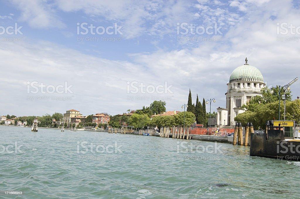 Venice Lido, Italy royalty-free stock photo