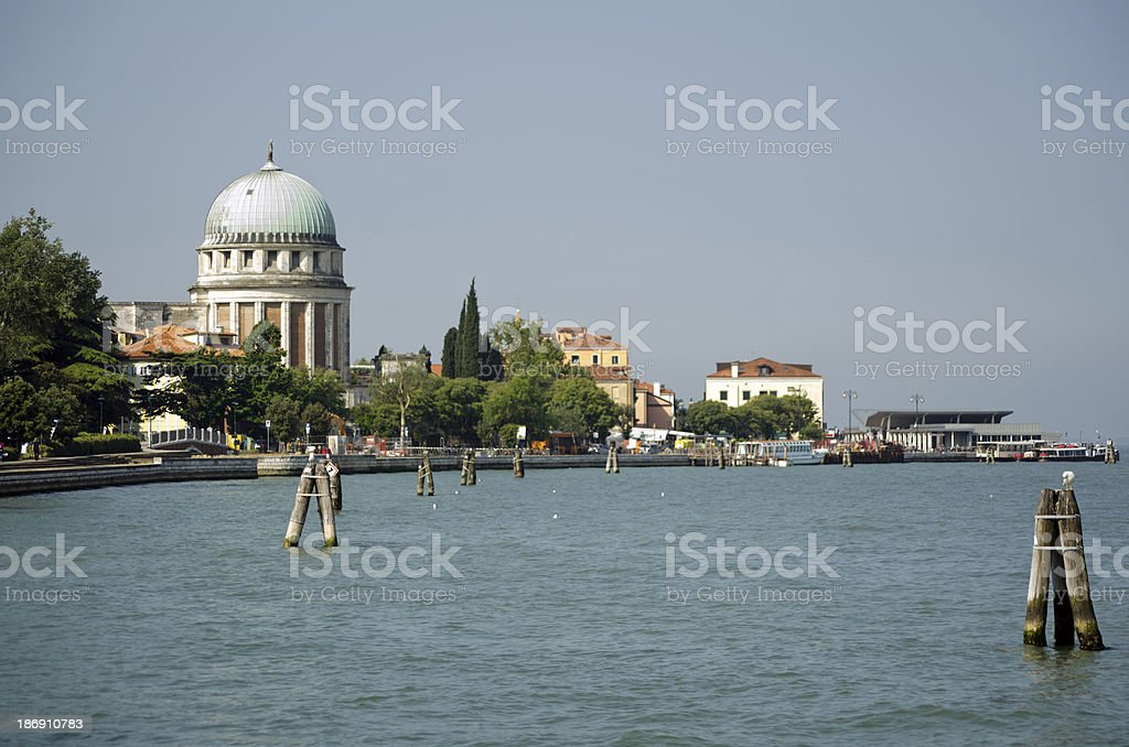 Venice Lido royalty-free stock photo