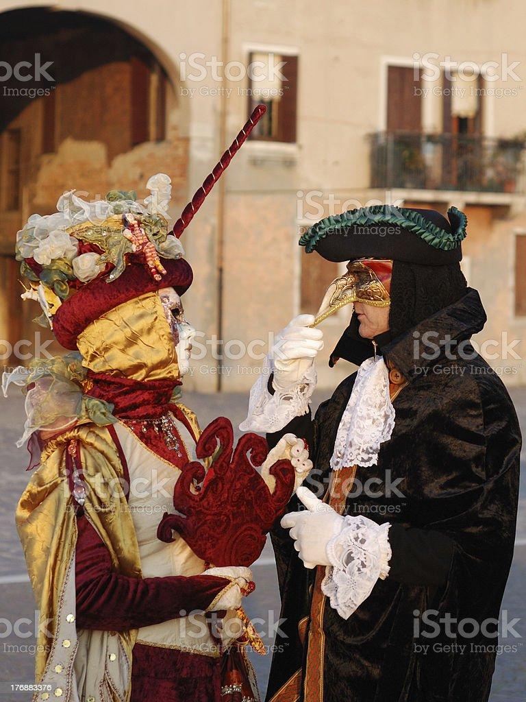 Venice Lovers royalty-free stock photo