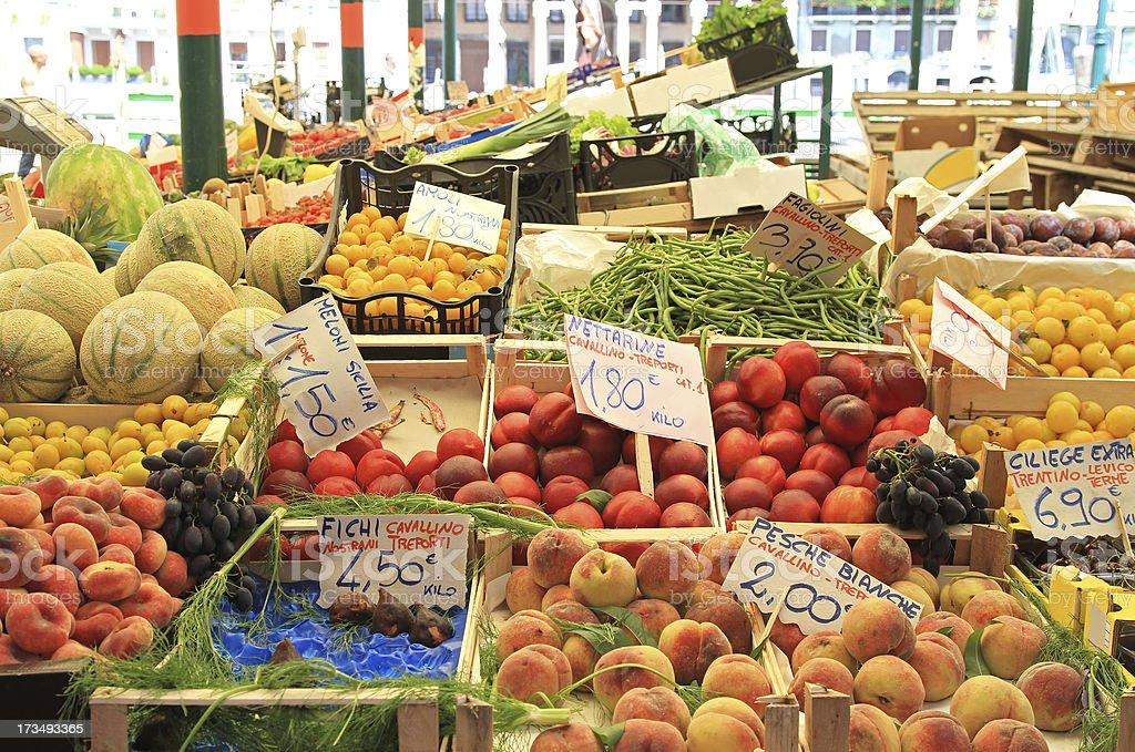 Venice market royalty-free stock photo