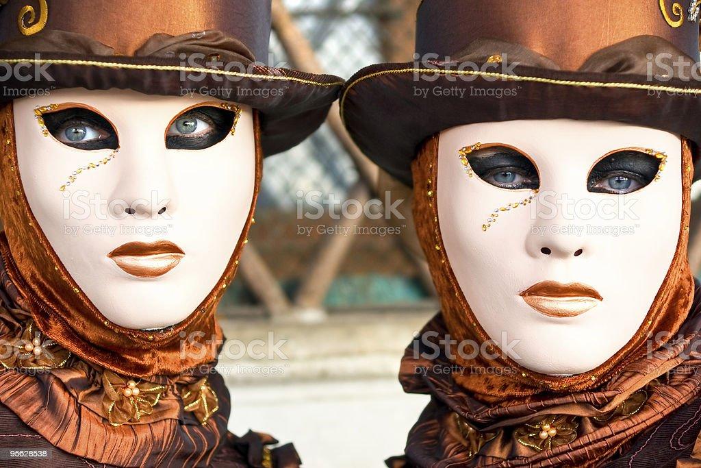 Masken, Karneval in Venedig. – Foto