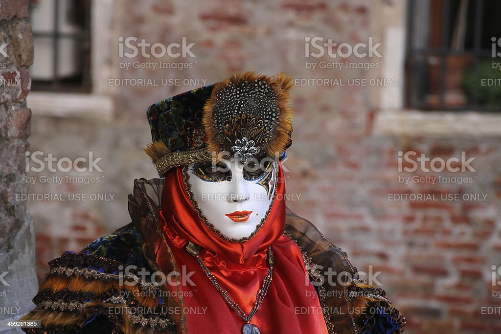 Venice mask royalty-free stock photo