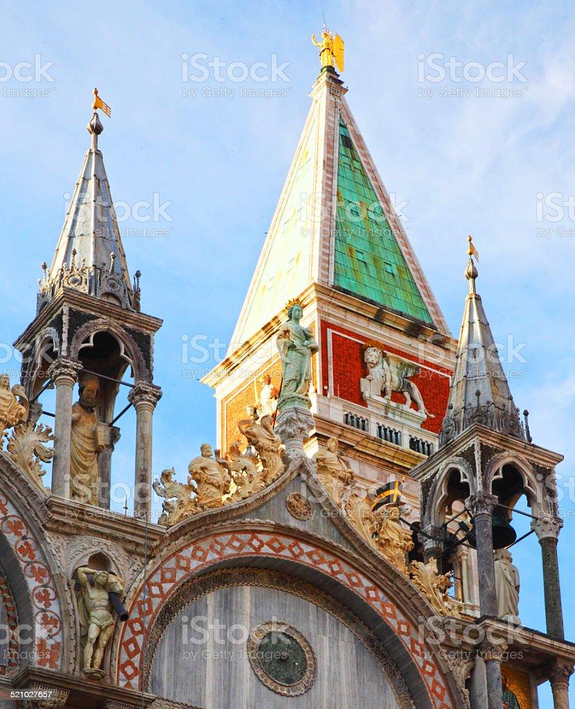 Venice Monument stock photo