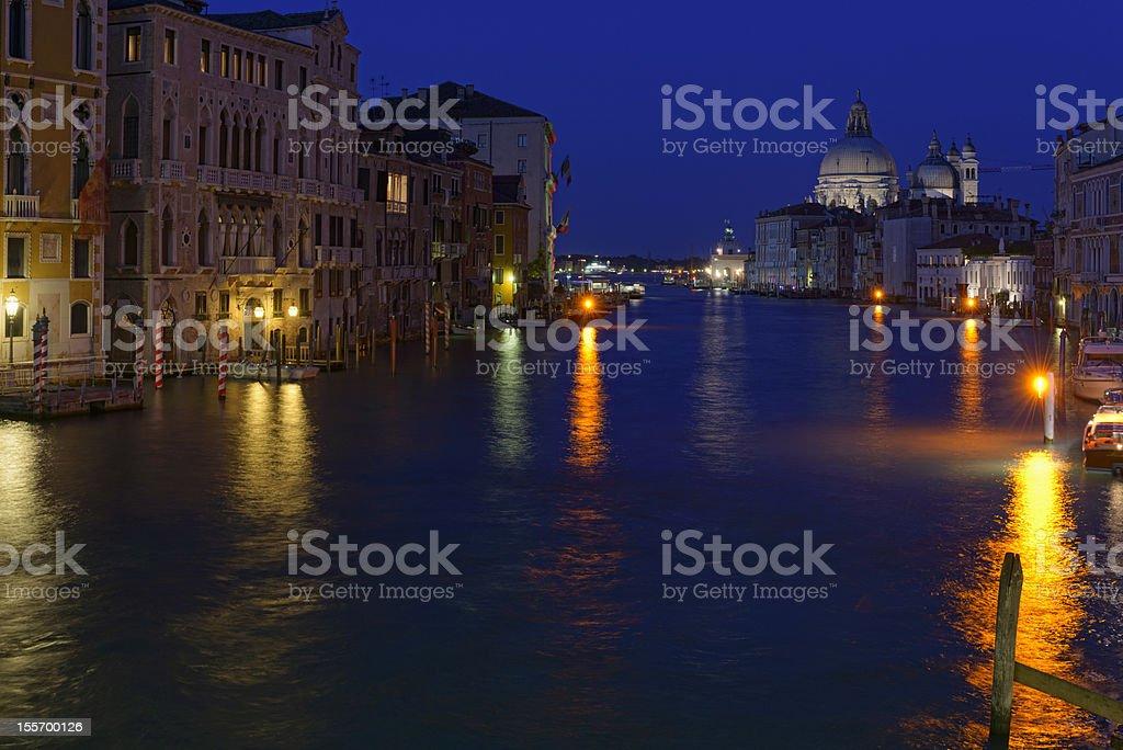 Venice nights stock photo