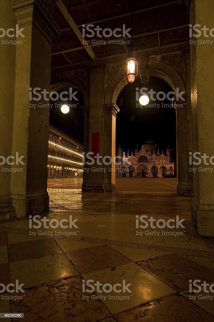 venice nightscape royalty-free stock photo