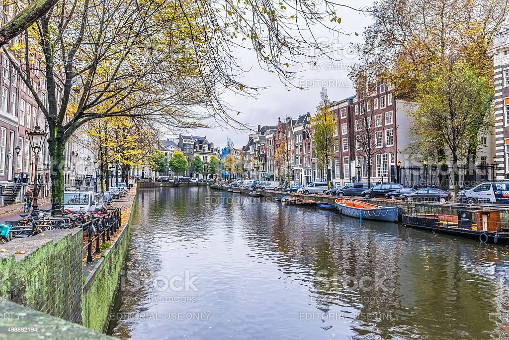 Venice of the North, Amsterdam, Netherlands stock photo