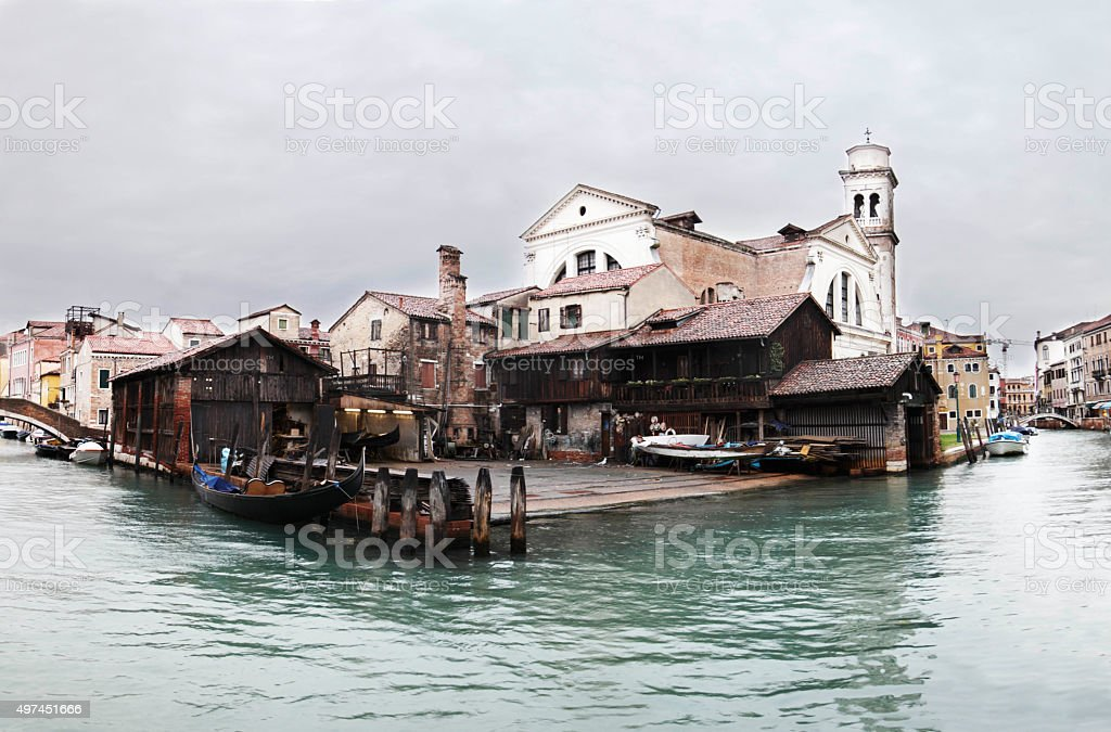 Venice panorama stock photo